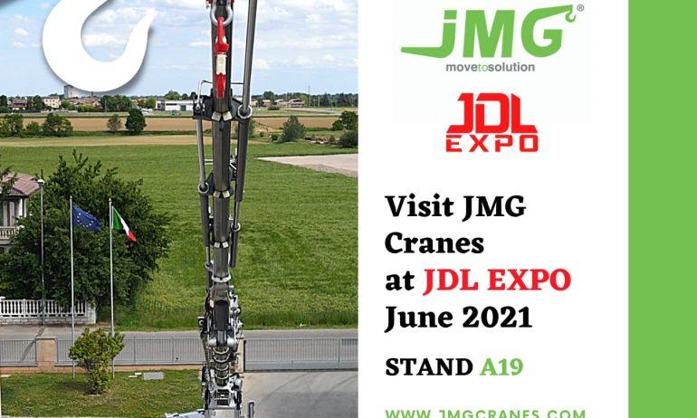 JMG Cranes à JDL EXPO BEAUNE